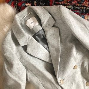 Aritzia Wilford Harrington Wool Coat (S/M)